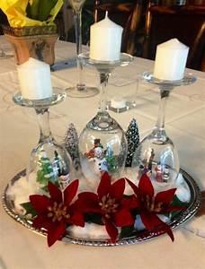 Decorations De Noel 2017 : top 50 christmas table decorations 2017 on pinterest no l decoration noel et d co de no l ~ Melissatoandfro.com Idées de Décoration
