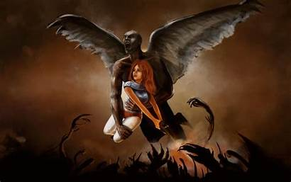Demon Wallpapers Wings Fantasy Wallpaperplay