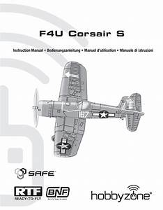 Horizon Hobby F4u Corsair S Instruction Manual Pdf