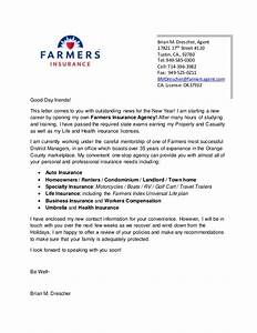 farmers letter 2 With business letter to insurance agency
