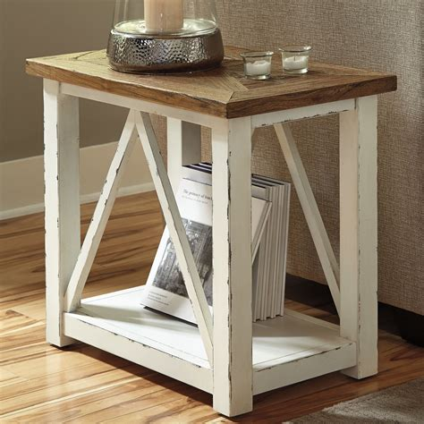 Style Living Room Tables by Signature Design By Marshone Rectangle End Table