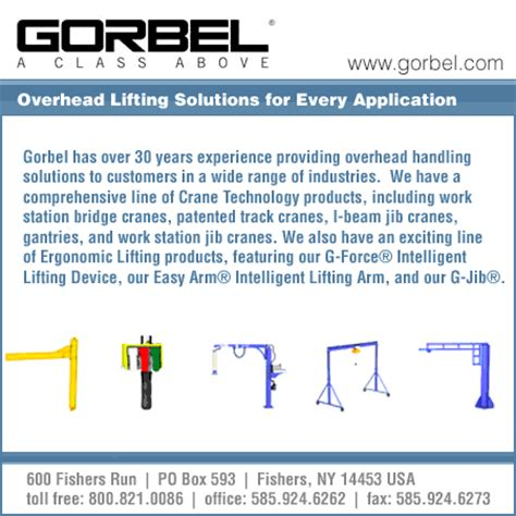 Corbel Inc by Gorbel Inc Fishers Ny Macrae S Blue Book