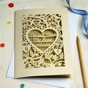 pogofandango beautifully bespoke stationery With laser cut wedding invitations delhi