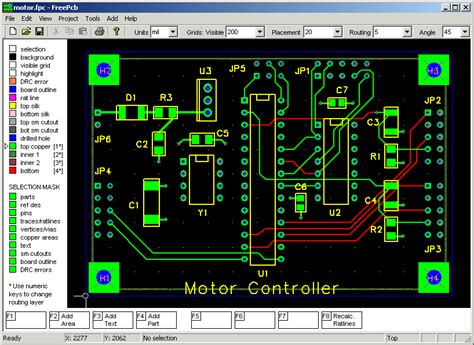 pcb design software pcb design software and layout drawing tools free