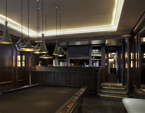 Gameroom & Bar  Transitional  Home Bar  Chicago By