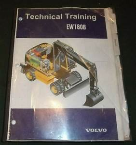 Volvo Ew180b Wheel Excavator Service Technical Training