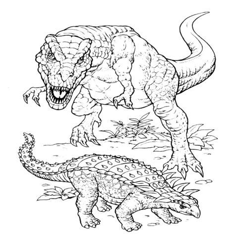 immagini di dinosauri da colorare per bambini disegni di dinosauri da colorare dentro t rex da colorare