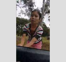 Woman Bangs On Car Windows As Muslim In Niqab Sits Inside