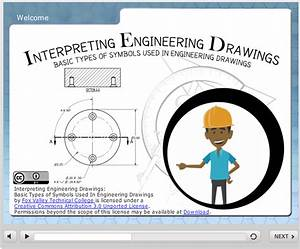 Basic Symbols Used In Engineering Drawings