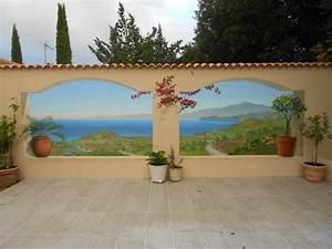 Mur Trompe L Oeil : bache exterieur trompe l 39 oeil ~ Melissatoandfro.com Idées de Décoration