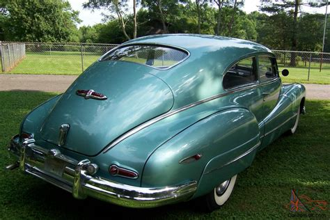 1 Sweet And Rare 1948 Buick Roadmaster Sedanette