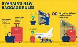 Flying Ryanair? It's just changed its hand luggage rules