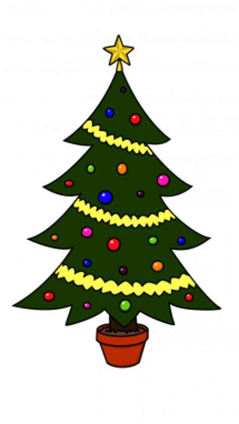 how to draw christmas tree christmas holidays easy step