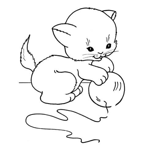 gambar mewarnai kucing pelajari menggambar dan mewarnai