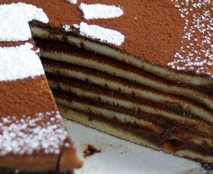 conversion cuisine gâteau de crêpes au chocolat recette de gâteau de crêpes