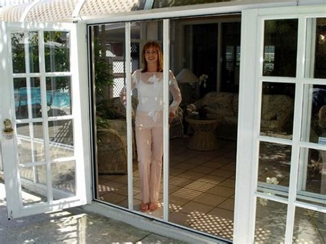 high resolution retractable patio screen door 5 sliding