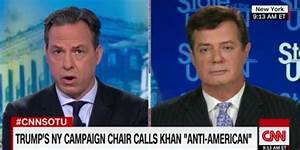 CNN anchor grills Trump campaign chair over official's ...