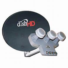 Dish Network Dish 10002 & Dishpro Triple Turbo Hd Lnb 110