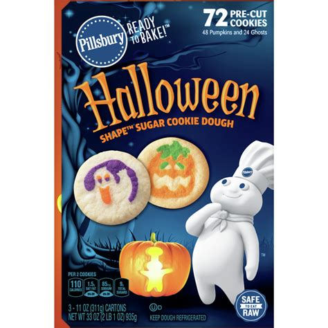 No colors from artificial sources and no high fructose corn syrup. Pillsbury Cookie Dough, Sugar, Halloween (3 each) - Instacart