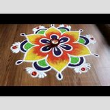 Rangoli Designs With Flowers And Colours | 480 x 360 jpeg 34kB
