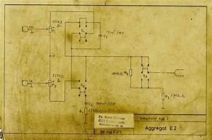 Hofner E2 Console Bass Guitar Schematic Diagram