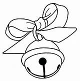 Bell Christmas Jingle Drawing Bells Coloring Pages Printable Clipart Clipartmag Liberty sketch template