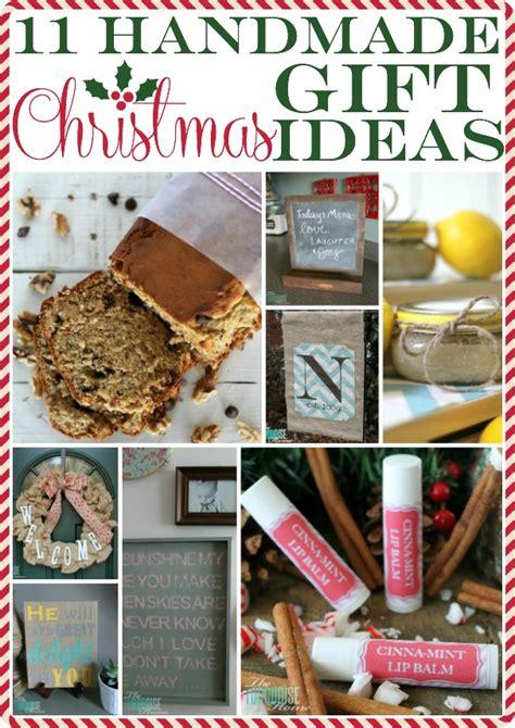 11 handmade christmas gift ideas the turquoise home