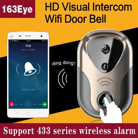 video door intercom wifi ip camera system support