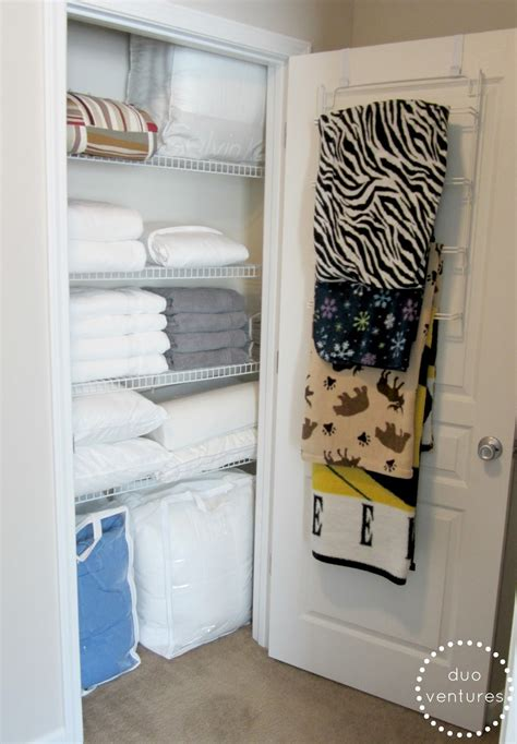 Duo Ventures Organizing The Linen Closet