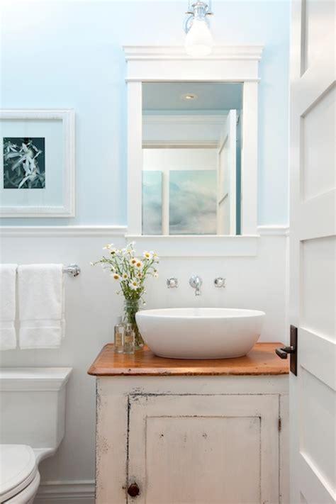 distressed bathroom cabinets cottage bathroom jodi