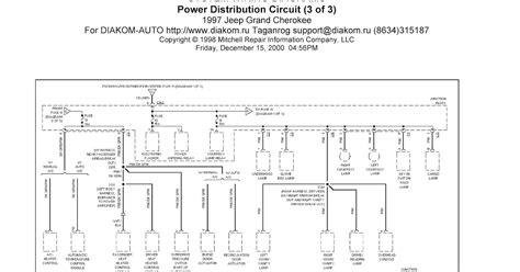 Jeep Grand Cherokee System Wiring Diagram Power