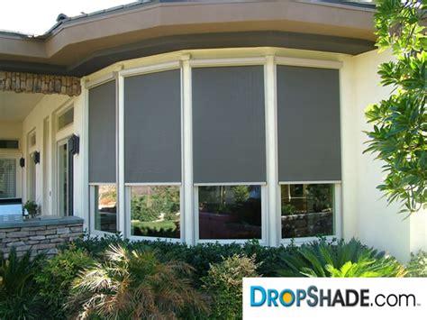 motorized window retractable shades window solar drop