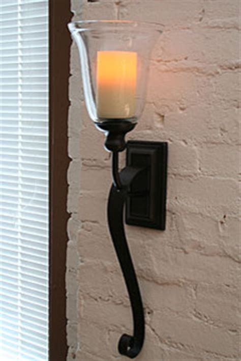 battery operated wall sconce rubbed bronze battery operated iron scroll sconce