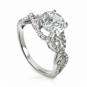 filediamond engagement ring in a twist designjpg With wedding ring wiki