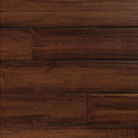 hardwood flooring walnut shop easoon exotic diy 4 87 in w prefinished walnut locking hardwood flooring manchurian at