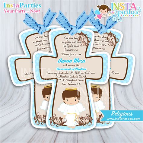 Baptism centerpieces boy party angel boy center piece