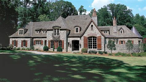 Chateau Style Home Designs From