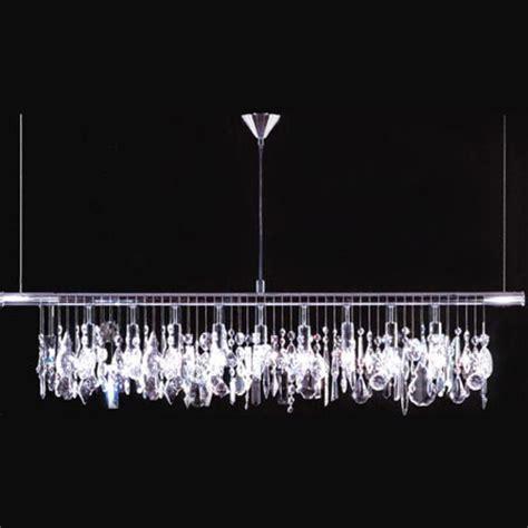 james  moder  crystal broadway linear chandelier