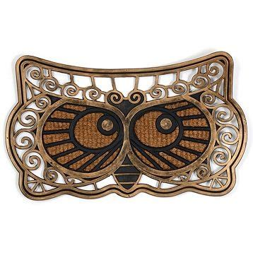 Owl Doormat by Get A Hoot Using Owls In Your Decor Dig This Design