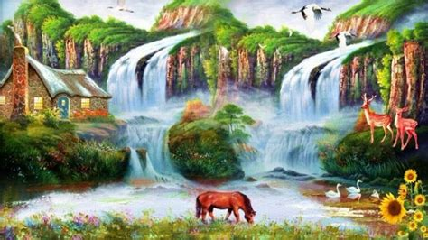 Beauty-nature-water-fall-hd-wallpapers-for-desktop