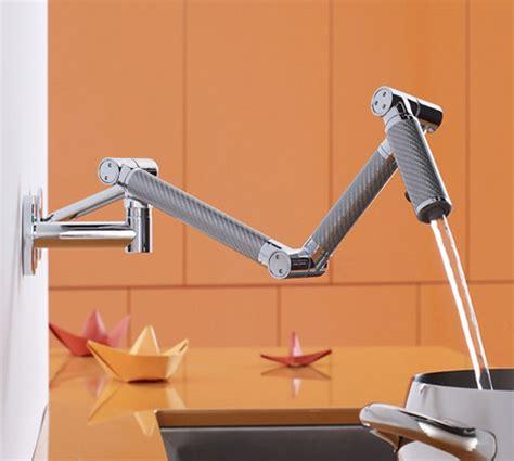 kohler karbon faucet wall mount kitchen faucets 7 most innovative faucet designs for 2009