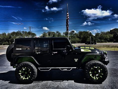 2017 Jeep Wrangler Unlimited Biohazard Custom Lifted
