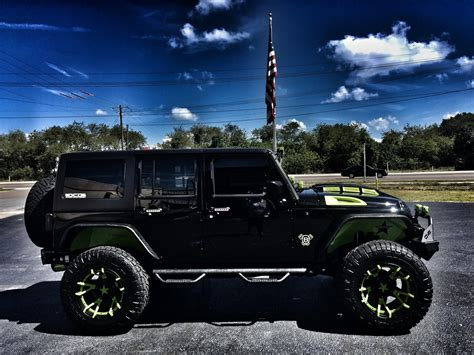 jeep wrangler custom lift 2017 jeep wrangler unlimited biohazard custom lifted