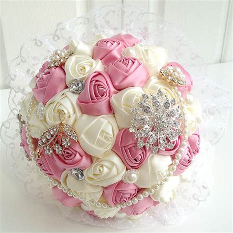 Image Gallery hand bouquet ribbon rose