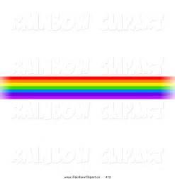 Rainbow Line Clip Art Borders