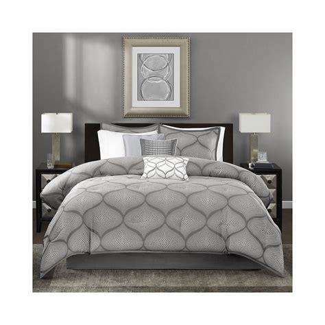 cheap madison park vella 7 pc jacquard comforter set now