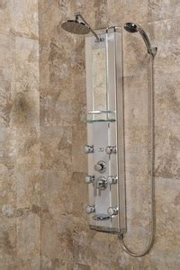 selection  hydrotherapy shower panels  build