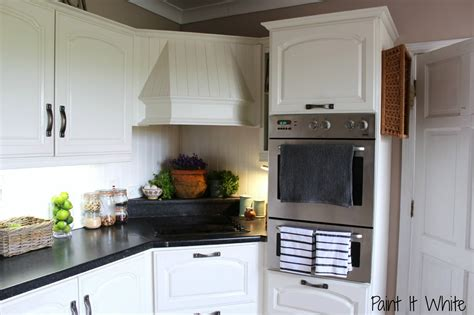 remodelaholic beautiful white kitchen update chalk