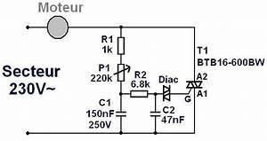 Variateur De Vitesse : variateur de vitesse pour moteur secteur 230v 16a ~ Farleysfitness.com Idées de Décoration