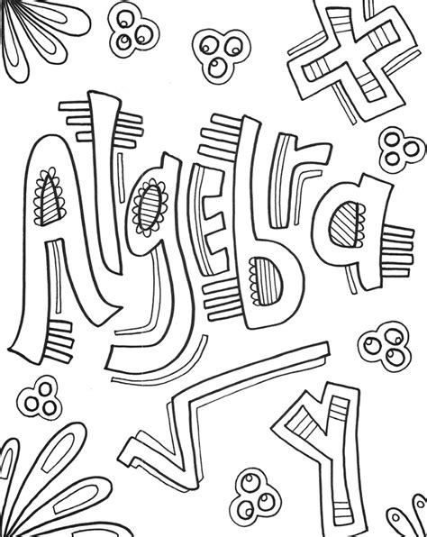 View Coloring Pages By Math PNG